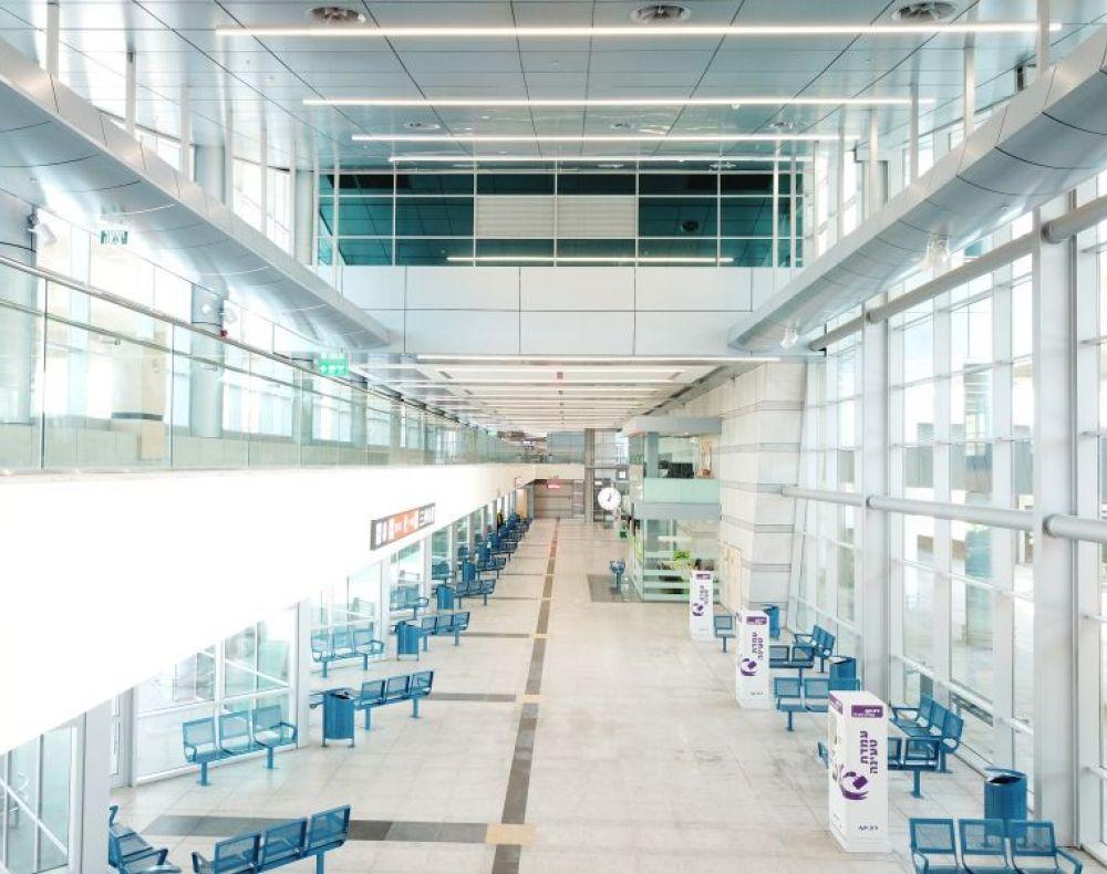 מבט מבפנים - מרכז תחבורה לב המפרץ