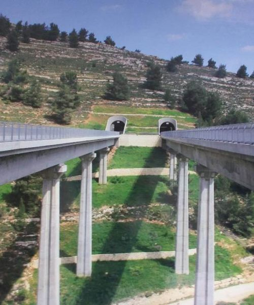 High-Speed Railway to Jerusalem – Section D